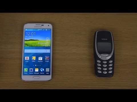 Samsung Galaxy S5 vs. Nokia 3310 - Which Is Faster?