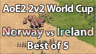 AoE2 2v2 World Cup   Norway vs Ireland!