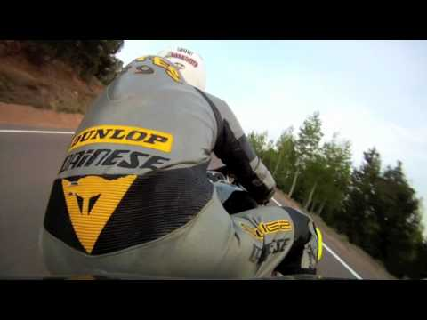 Pikes Peak Testing on 240hp Electric Superbike