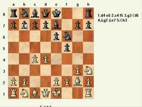 Chess Game 1: Opening