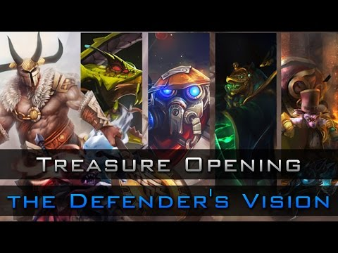 Dota 2 Chest Opening: Treasure of the Defender's Vision