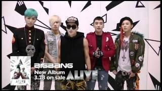 BIGBANG - New Album [ALIVE] Releases in Japan!