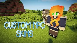 HOW TO: Customize Skins for CustomNPC Mod 1.7.10 (Minecraft Tutorial) | Marielitai Gaming