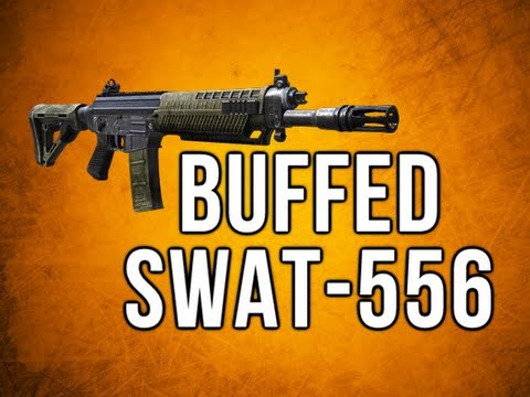 Black Ops 2 In Depth - Buffed Swat-556 Assault Rifle Review