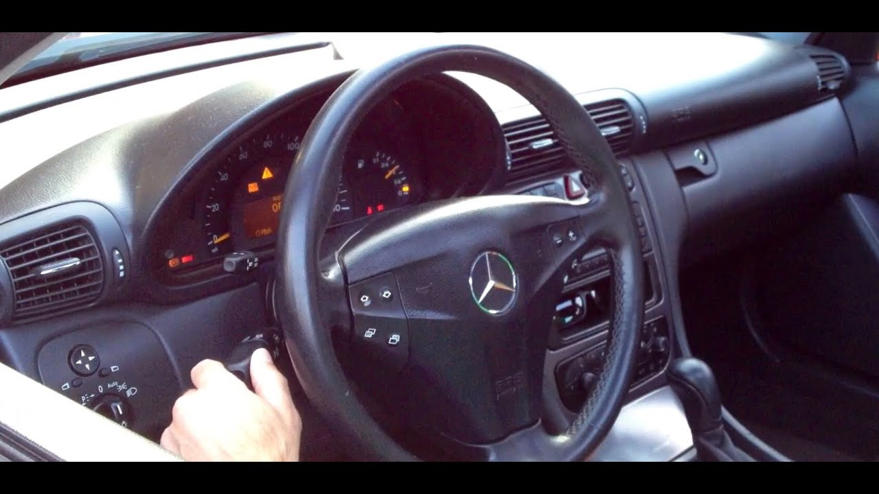 How To Replace Combination Switch 2004 Mercedes  W203