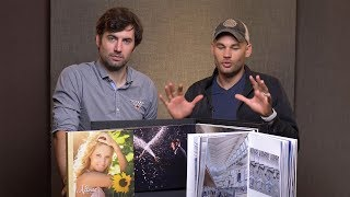 Critiquing 3 Photographer's Printed Books