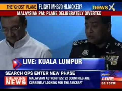 Malaysian PM : Plane deliberately diverted