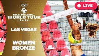 Las Vegas 4-Star - 2018 FIVB Beach Volleyball World Tour - Women Bronze Medal Match