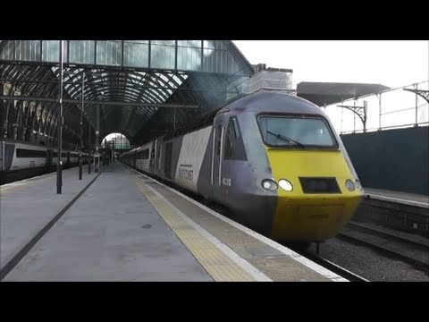 Trains at London Kings Cross | 17/10/13