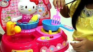 Mainan Anak Masak Masakan Hello Kitty 💖 Potong Buah dan Sayur 💖 Jessica Jenica
