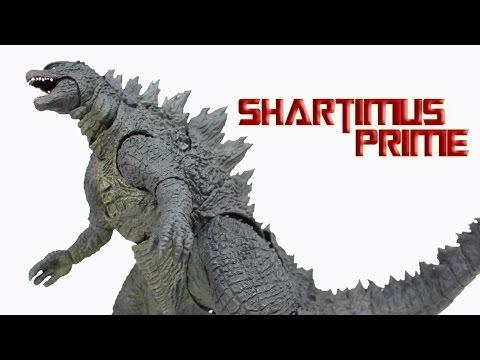SH MonsterArts Godzilla 2014 Tamashii Nations Bandai Movie Action Figure Review