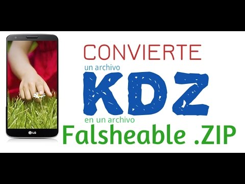 Convierte un archivo KDZ en un Flasheable .ZIP