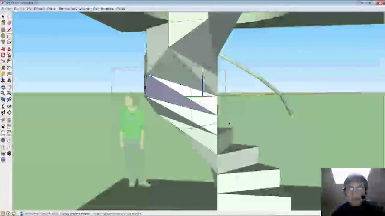 M todo fant stico para crear escaleras caracol o espiral for Como trazar una escalera de caracol de concreto