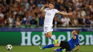 Club Brugge 0 x 3 Leicester City ● UEFA Champions League 2016  ● Highlights & Goals
