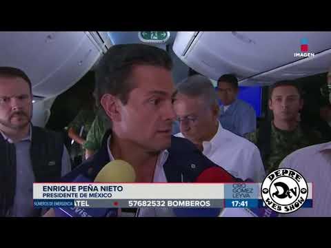 Peña Nieto - ESTAMOS A 1 MINUTO DE ATERRIZAR A MENOS A 5 MINUTOS - BLOOPER - DEPRE TV