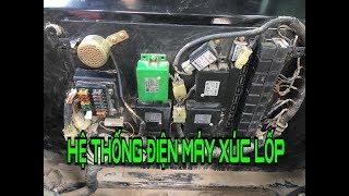 Hướng dẫn hệ thống điện máy xúc lốp