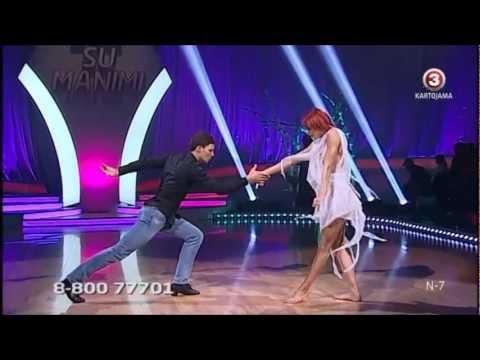 Šok su manimi - Petras Daunys ir Sandra Saikauskaite (2012-11-03)