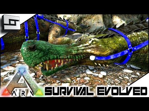 ARK: Survival Evolved - ALMOST PERFECT SARCO TAME! S3E28 ( Gameplay )