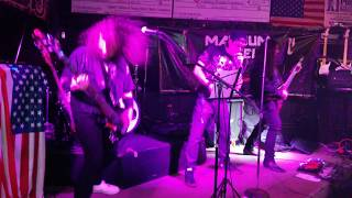 "Magnum Steel, Playing ""Grinder"" of Judas Priest. \m/"