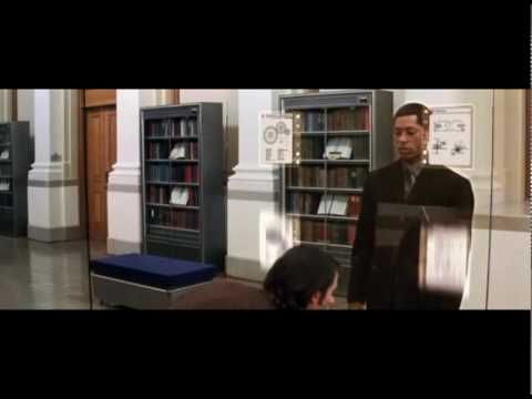 The Time Machine (2002) Full Library Scene