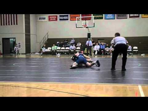 Gettysburg Wrestling Highlights vs McDaniel 1/12/2011
