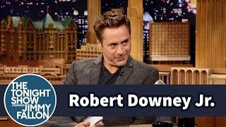 Video Robert Downey Jr. Had a Ball Pit