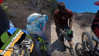 Evading The Predator at Aliso and Laguna   5 Oaks, Stair Steps and Art Skool Trails