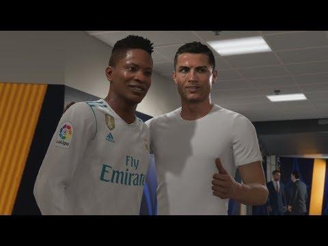 FIFA 18 The Journey - Preseason vs Cristiano Ronaldo! PS4 Pro 4K Gameplay