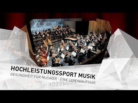 Staatsorchester Stuttgart - HOCHLEISTUNGSSPORT MUSIK - Gesundheit für Musiker