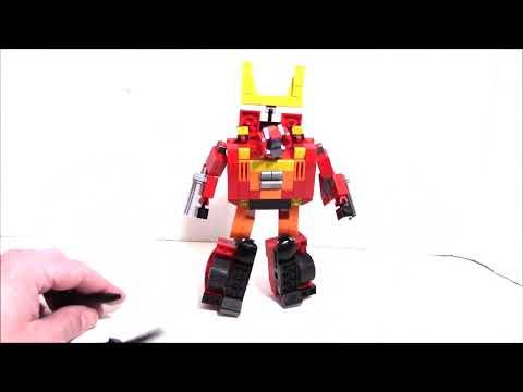 Lego Transformers G1 Hot Rod by BWTMT Brickworks