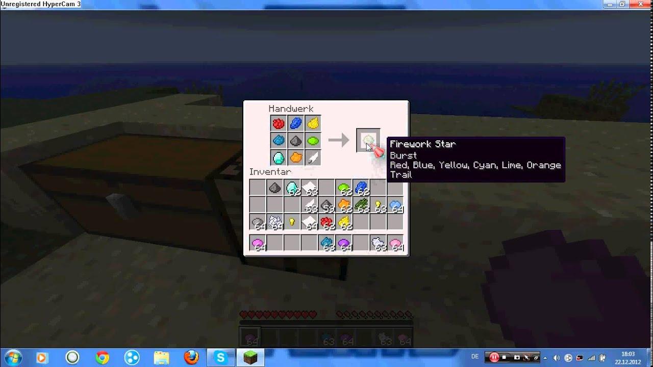 Minecraft Raketen Craften images