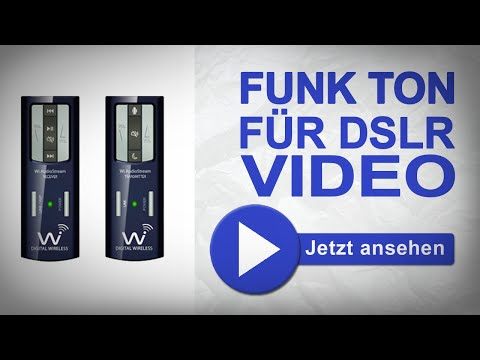 Mikrofon Funkübertragung für DSLR Filmer - Wi Digital Systems Audio Stream EL2 | marcusfotos.de