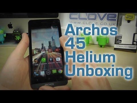 Archos 45 Helium Unboxing