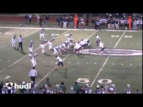 QB Justus Spillner, Nevada Union High School, (Sophomore Highlights (Varsity)/2013)