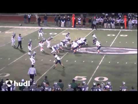 QB Justus Spillner, Nevada Union High School, (Sophomore Highlights (Varsity)/2013)