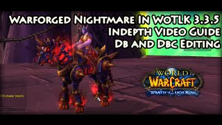 Wow 3.3.5a - Porting Warforged Nightmare Mount Into WoTLK Guide