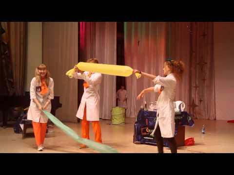 Научное шоу Сумасшедшая лаборатория