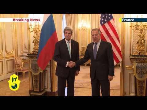 Russian Invasion of Crimea: US Secretary of State meets Russia's Lavrov for Paris talks