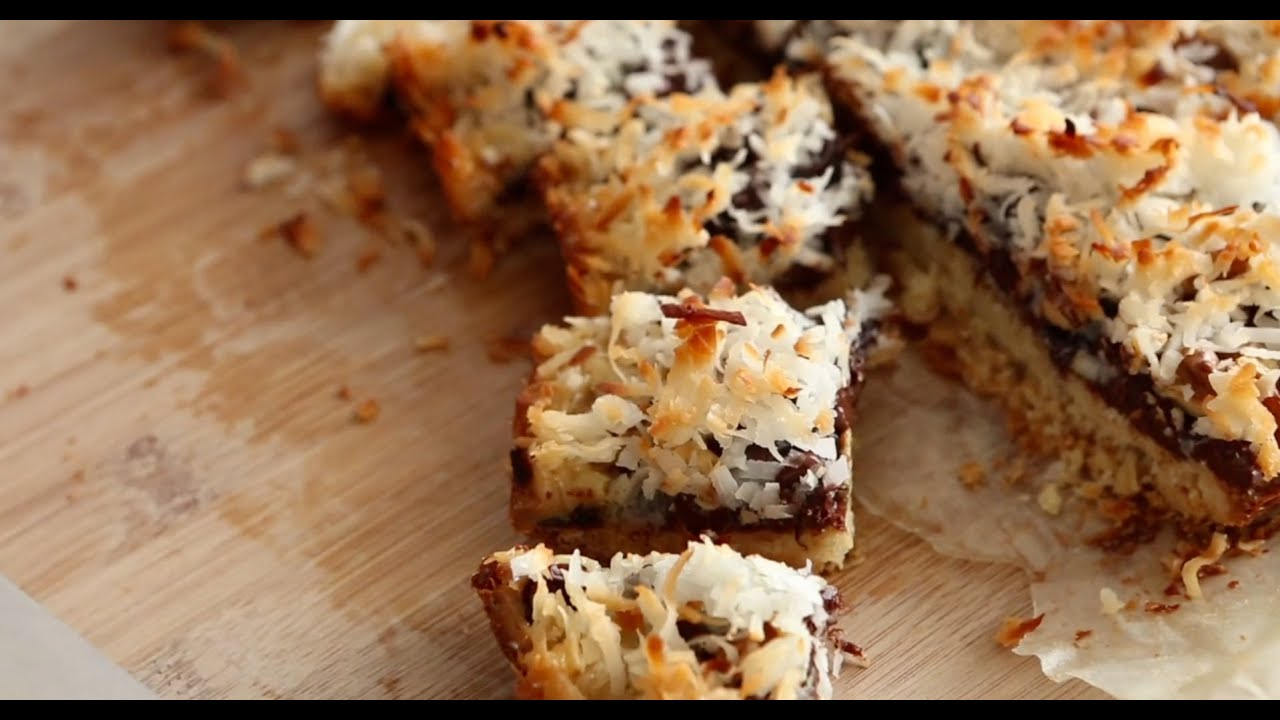 Gooey Layered Everything Bars | Everyday Food with Sarah Carey ...