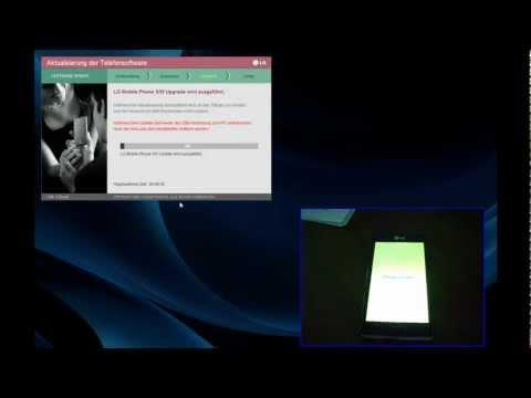 LG P700 Optimus L7 Software Update per LGMobile Updater durchführen