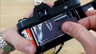 How To Load 35mm Film (Konica Autoreflex TC)