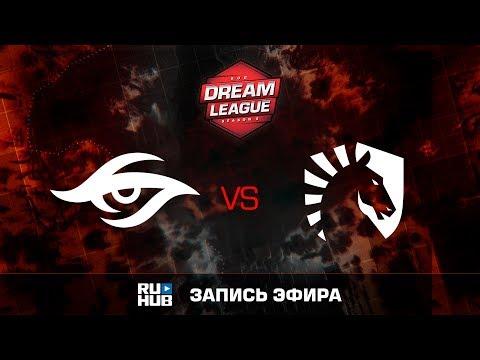 Secret vs Liquid, ROG DreamLeague, Grand Final, game 2 [v1lat, Godhunt]