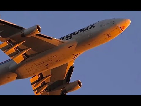 Heavy Aircraft & Loud Airplane Takeoffs -- Chicago O'Hare International Airport Departures