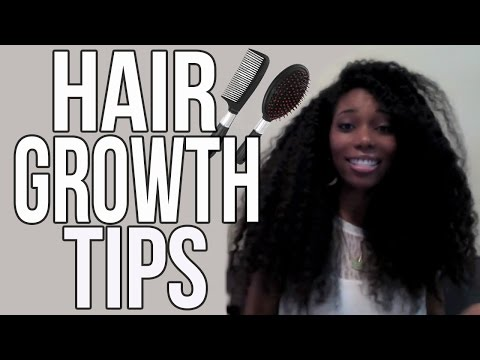 My Tips For Growing Long/Healthy Natural Hair!