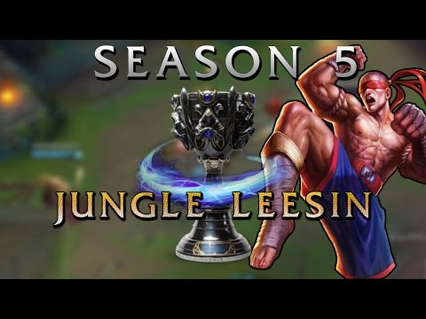 Pre-Season 5 New Jungle Gameplay (Lee Sin) - League of Legends PBE