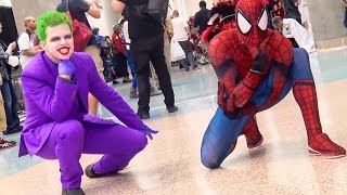 The Joker vs Spider-Man DANCE BATTLE PREVIEW (Ft.Sean Ward & TstunningSpidey)