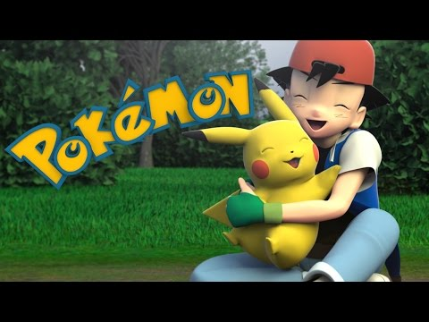 Pokemon Original Intro - Remade in 3D