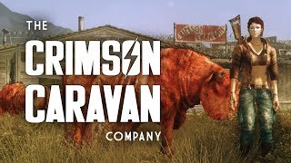 The Crimson Caravan Company: Clean or Corrupt? The Full Story - Fallout 1 & New Vegas Lore