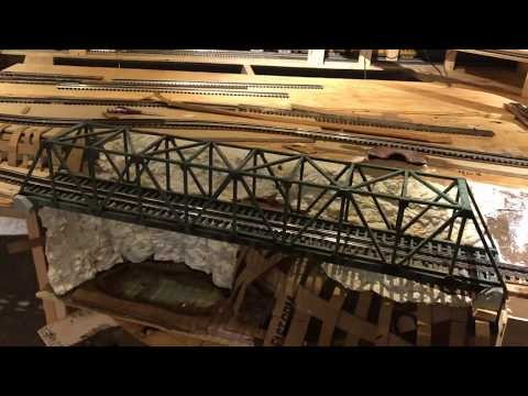 Chris's O-Scale Train Layout - Video Blog 1