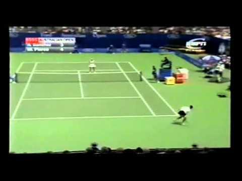 [HL] Mary ピアース v. Arantxa サンチェス-Vicario 1995 全豪オープン [F]